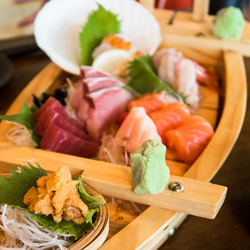 Tsukiji Fish Market Restaurant Singapore Sashimi Boat