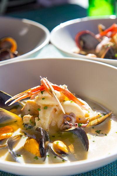 Two Oceans Restaurant Cape Point Seafood Chowder