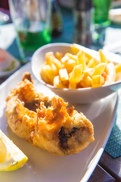 Two Oceans Restaurant Cape Point Fish and Chips