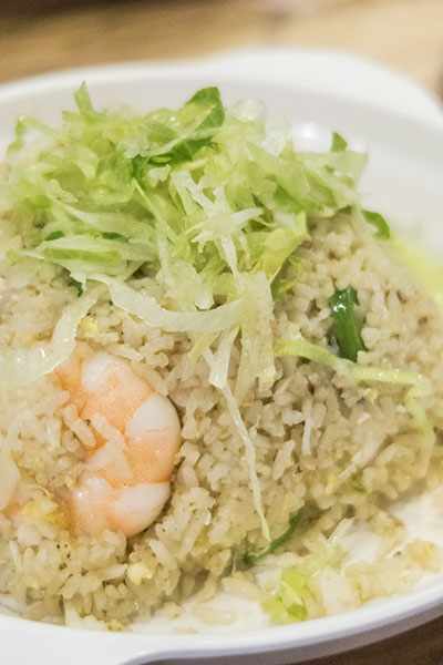 Uncle Leong Signature Seafood Fried Rice