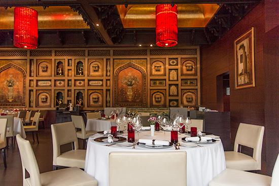 Varq Restaurant Taj Mahal Hotel New Delhi