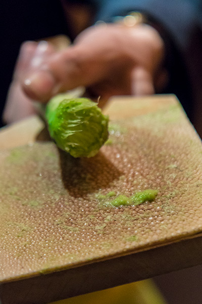 Wasabi New Delhi by Iron Chef Masaharu Morimoto Freshly Grated Wasabi