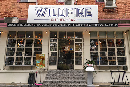 Wildfire Burgers and Bar Singapore